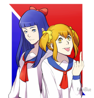 Pop Team Epic by KaenBlue