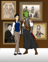 Vastra and Jenny LXG by jay042