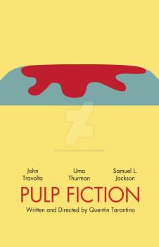'Pulp Fiction' Minimalist by imisplacedmypants