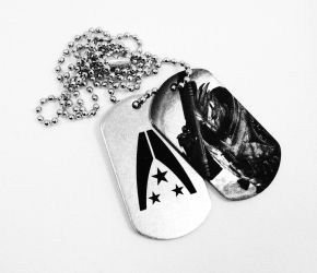 Dog tags with Garrus by Katlinegrey