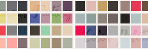 Color Palettes 001# by Efruse
