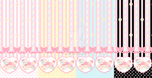 Sweet Birthday Textile Preview by SweetiexCakes