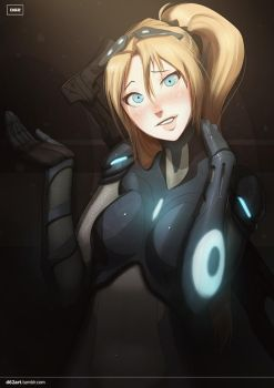 Nova (StarCraft 2) by d62art