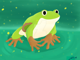 Frog by Cat-Leen