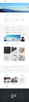 Mount Multipurpose Business Template by begha