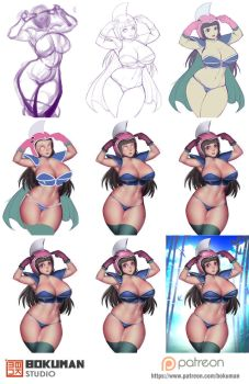 Step by step chichi by bokuman