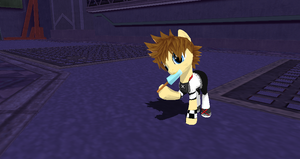 Roxas Pony + DL by Valforwing