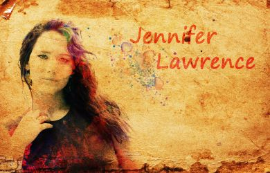 jennifer lawrence by LadyMechanikx