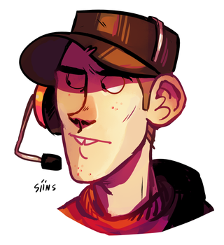 scout face by SIIINS