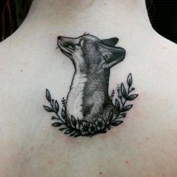 Fox tattoo by icakeyyy