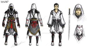 Assassin's Creed 3 - Japan by Tiggstar
