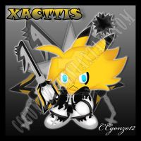 RQ: Xacttis the Nobody: -XIII Chao by CCmoonstar23