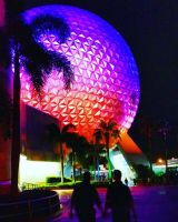 Epcot at Night :: Cast Members in Love by Digital-Jedi