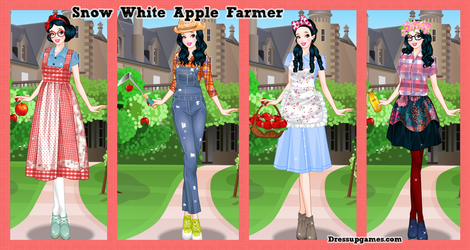 Snow White is an apple farmer by DressUpGamescom