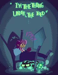The Thing Under Bed by inkinesss