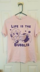 Life is the Bubbles: Mystic Waters T-Shirts by HaruBlossom