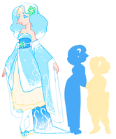 Snow Opal Fusion Adopt [CLOSED] by Death2Eden