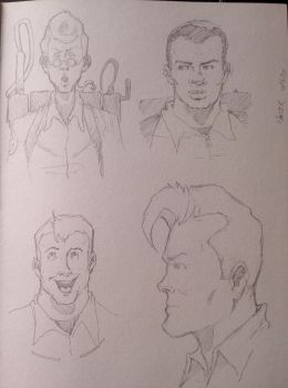Ghostbusters 4 Real (sketch) by NathanKroll