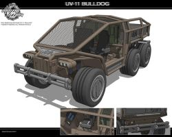 UV-11 Bulldog by Marrekie