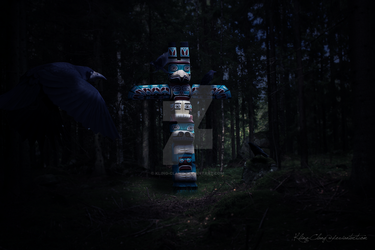 Crow Totem by Kling-Clang