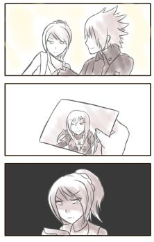 FFXV: Noctis's most cherished picture by unknownlifeform