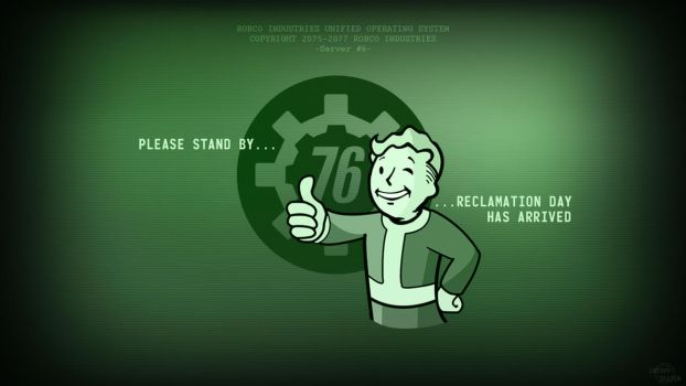 Fallout 76 Wallpaper by Cre5po