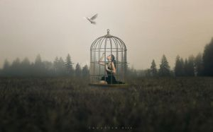 Caged by ngelz