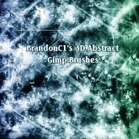 Brandonc1's 3D Abstract Pack by Project-GimpBC