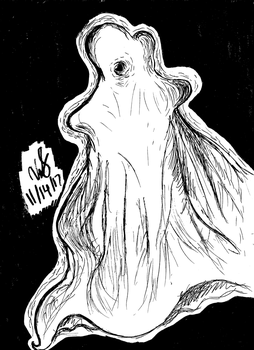 One-Eyed Ghost by VictoryStar527
