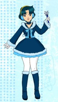 Sailor Snow Mercury by lamarce