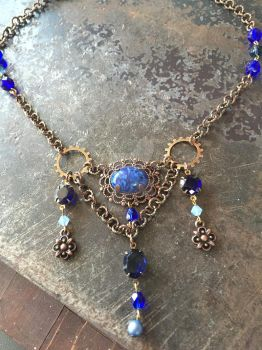 Blue Steampunk by ElegantlyEccentric