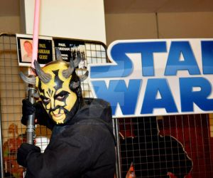Savage Opress makeup for le salon des geek 2015 by made-me-a-monster