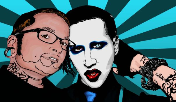 chef Luis with Manson by chikode