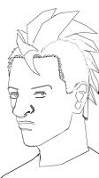 Kevin Ingwell  Lineart by QRS3000