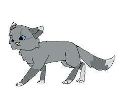Cinderpaw Walk Cycle by RockpeltThunderClan