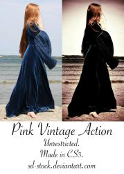 Pink Vintage Action by sd-stock