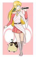 [COLLAB] J-Pop Idol Zelda (Skyward Sword) by Indie-Calls
