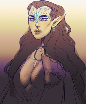 lavellan by cakiebakie