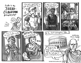 Guide to the Julio-Claudian Dynasty by tomato-bird