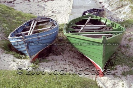 Isle of Lewis Boats, 2004 by pwrpufgirlz