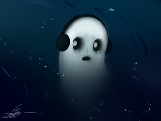 Napstablook by nathal32