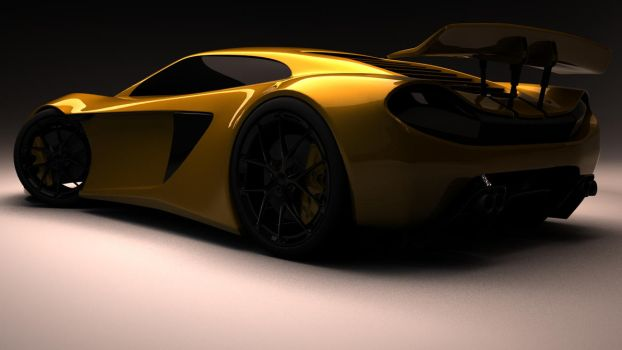 Concept SuperCar by xkev28
