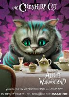 The Cheshire Cat by AliceInWonderland