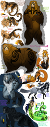 Nature Gods/Animal Titans by SniperGirl0907