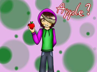 Apple? |ThatGuyBarney| by Catherin478