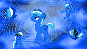 Adam the Super Brony Request Wallpapper by PlatypusStew