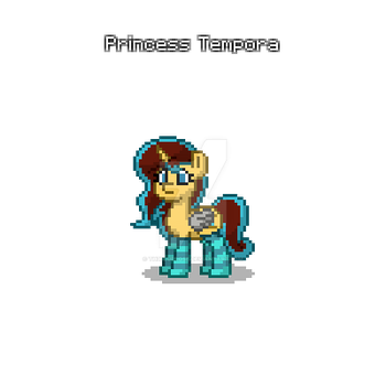 Princess Tempora (Pony.Town Edition) V1 by Th3BlueRose