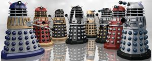 Daleks in Technicolour by Librarian-bot