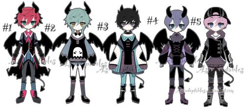 Demon adoptable batch closed by AS-Adoptables