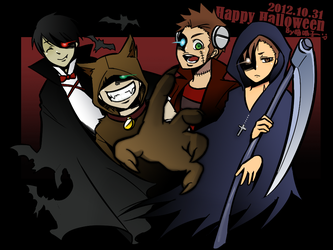 Happy Halloween by aulauly7